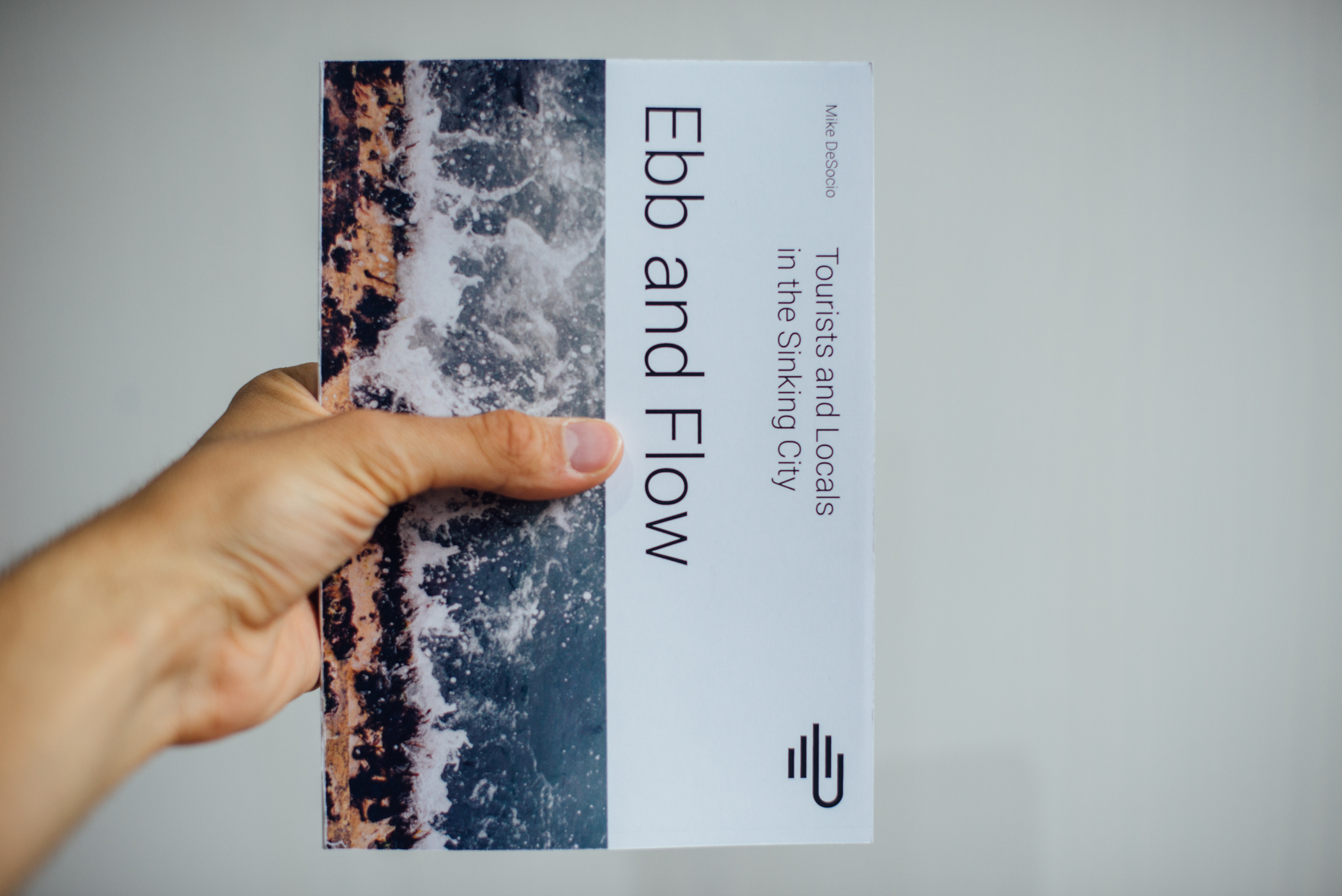 """Cover of """"Ebb and Flow,"""" my final book project."""
